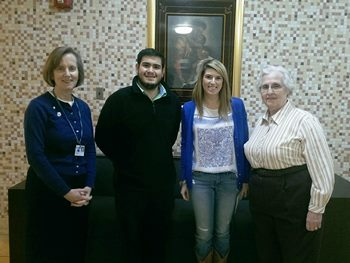 Catholic University Law Students Donate to St. Ann's Center